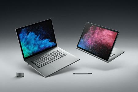 Microsoft ya permite descargar la imagen de recuperación del Surface Book 2