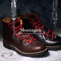 De traje, corbata y botas de montaña: Car Shoe