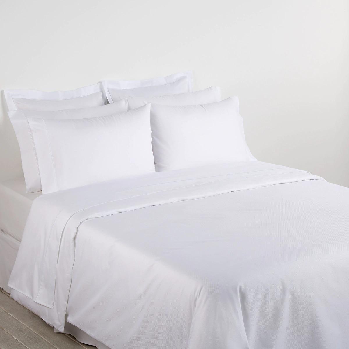 BASSOLS Juego de sábanas algodón egipcio 300 hilos Serie Hotel Regis Bassols