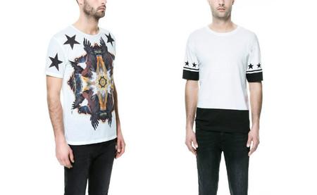Camiseta Zara Estrellas