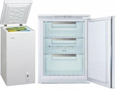 Pequeños congeladores. ¿Horizontales o verticales?