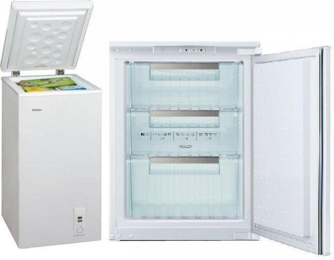 Peque os congeladores horizontales o verticales for Congelador vertical pequeno