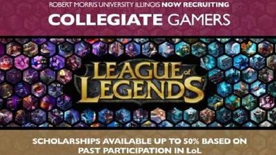 Jugar League of Legens podría conseguirte una beca universitaria