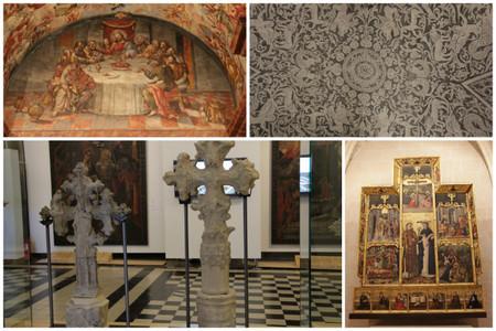magistri esgrafiados y cruces
