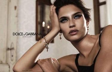 Fabio, no hay joya, no hay beso. Campaña de joyas de Dolce Gabbana