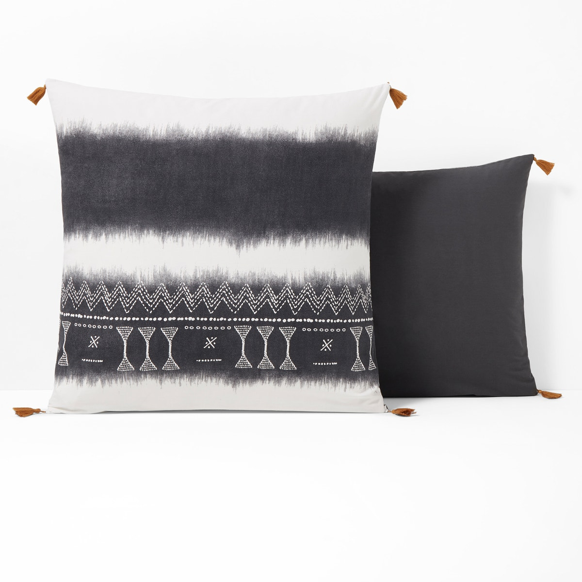 Funda de almohada de algodón lavado, Yoruba