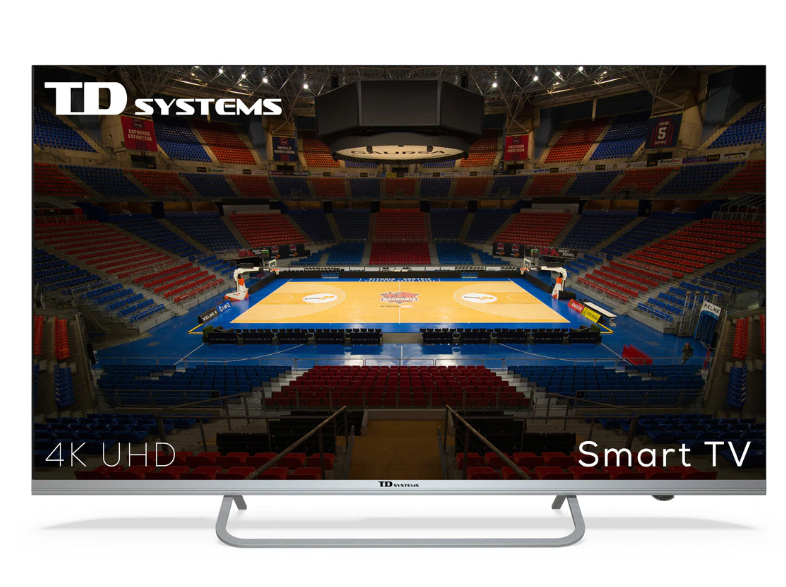 "TV LED 109,22 cm (43"") TD Systems K43DLX11US 4K HDR, Smart TV, HbbTV"