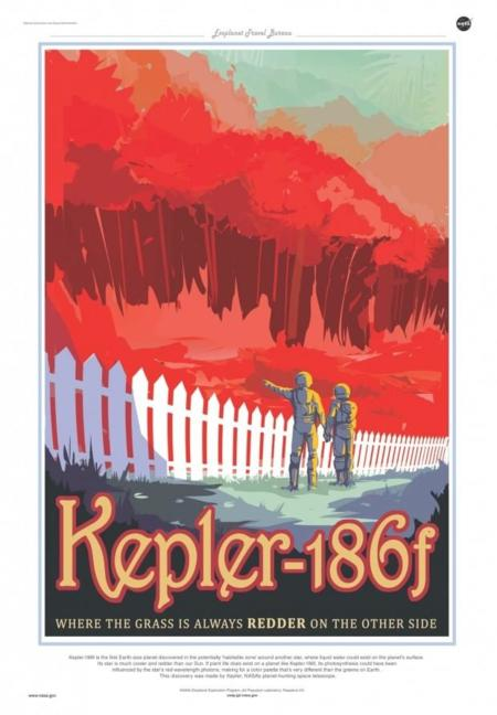 Retro Travel Posters By Nasa 3