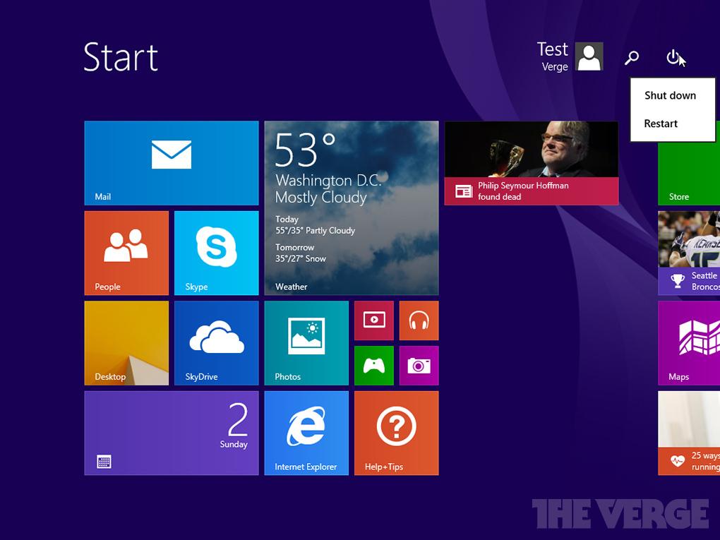 Foto de Capturas de pantalla Windows 8.1 Update 1 (2/9)