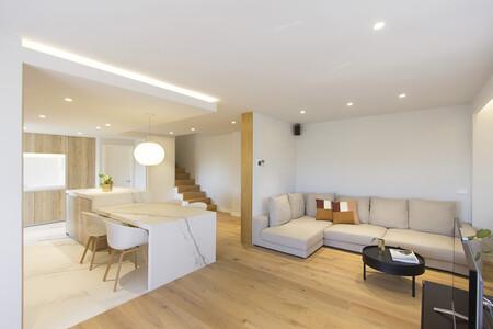 Un dúplex en Madrid de 120 m2 recién reformado con las últimas tendencias en acabados y revestimientos