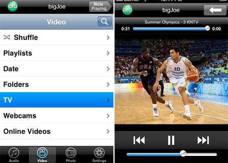 OrbLive, la televisión en tu iPhone