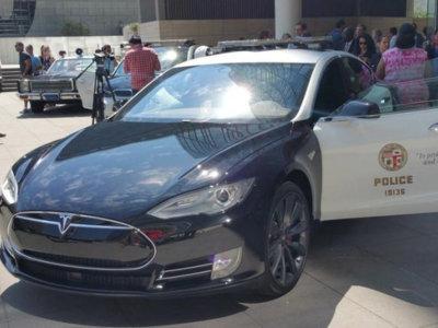 El Tesla Model S no convence a la Policía de Los Ángeles tras un año de pruebas