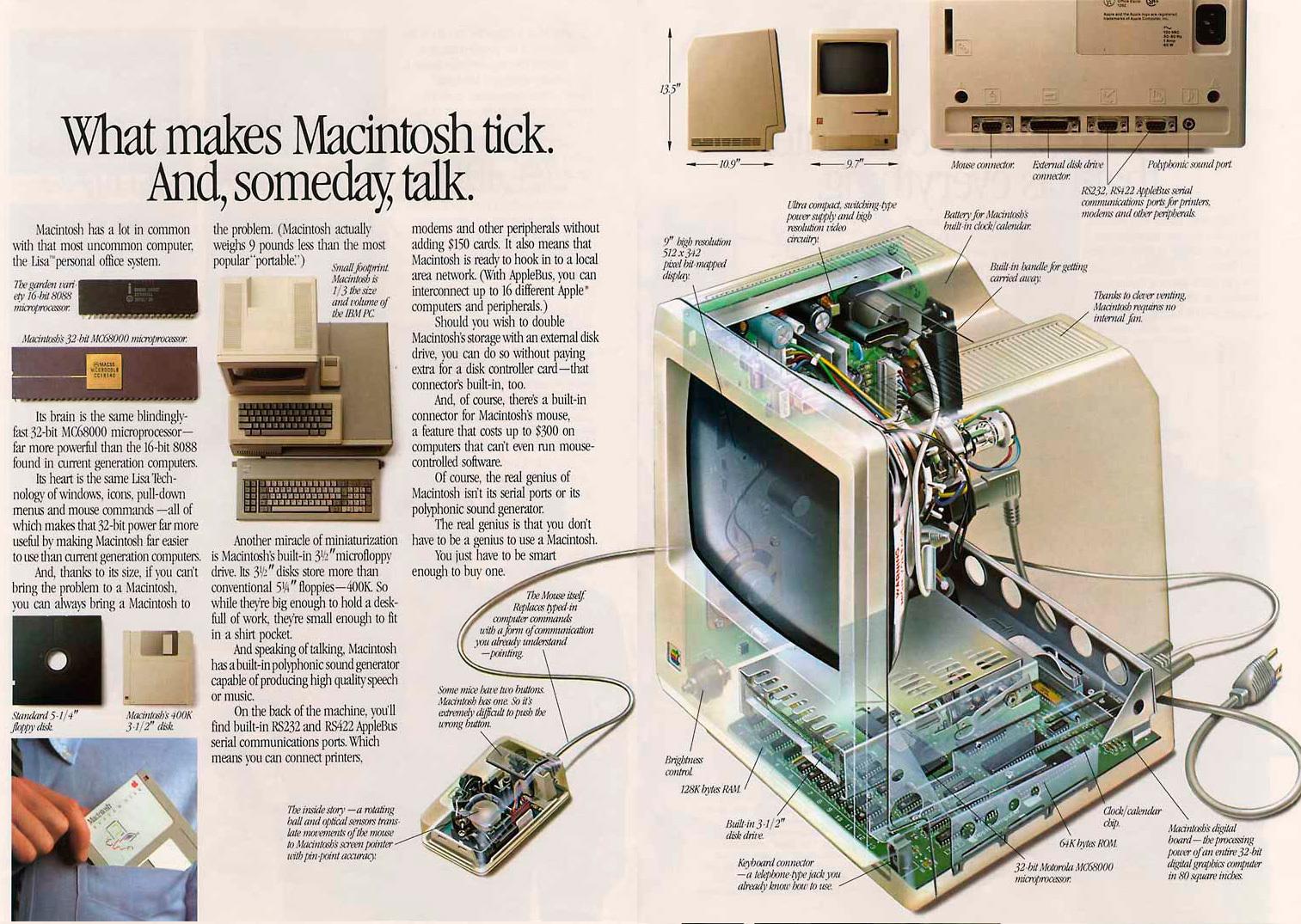 Foto de Presentación del Macintosh en Newsweek (9/11)
