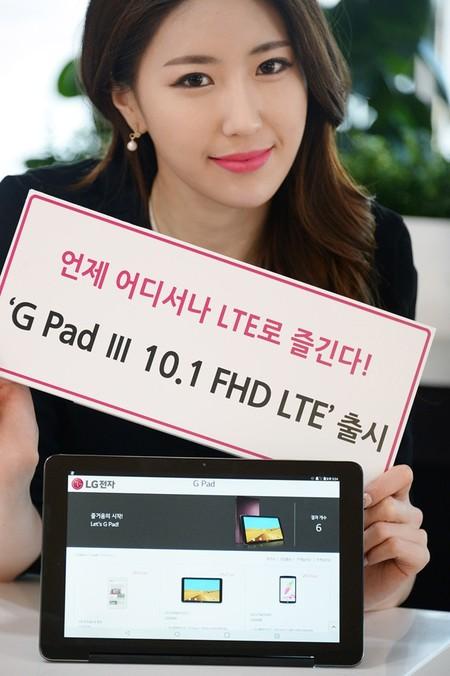 LG G Pad III 10.1, así es la nueva tableta de gama media Android de LG