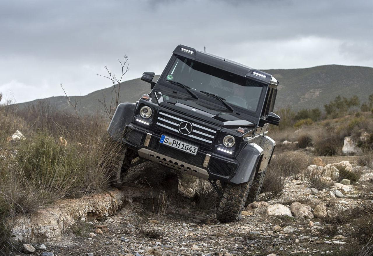 Foto de Mercedes-Benz G 500 4x4², toma de contacto (53/127)