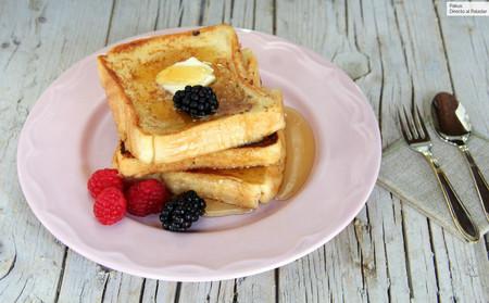 French toasts o tostadas francesas, el desayuno más navideño