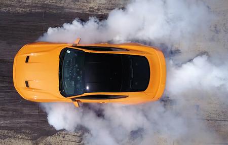La función 'Line-Lock' para hacer burnouts será de serie en todos los Ford Mustang 2018