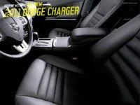 El interior del Dodge Charger