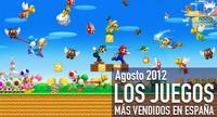 Los juegos más vendidos en España en agosto 2012: toneladas de monedas de oro y rol