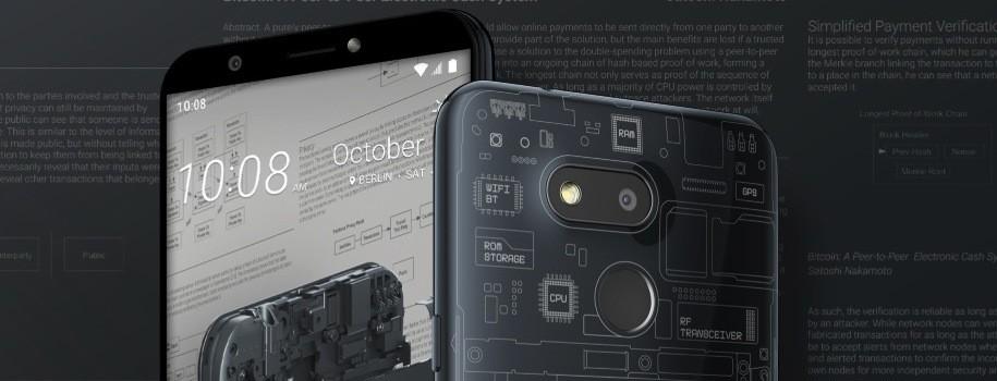 El nuevo HTC Exodus 1S es oficial, el primer teléfono capaz de almacenar un nodo completo de Bitcoin.