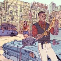 Death Burger, el artista de Sabadell que ha diseñado las cuatro ilustraciones para las cajas metálicas de Cyberpunk 2077