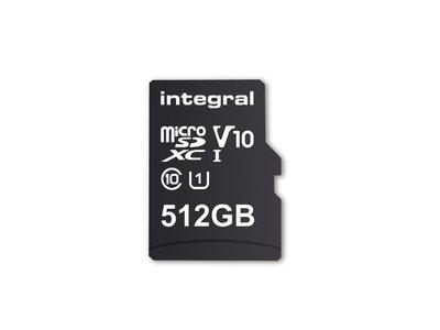 Esta es la microSD con mayor capacidad del mundo: lograron meter 512GB en un milímetro de grosor