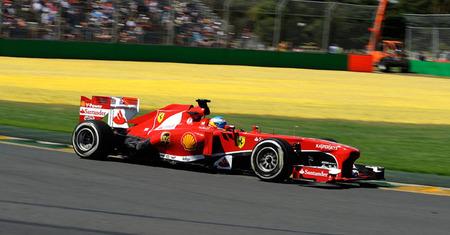 Fernando Alonso, el segundo piloto más contento de la parrilla