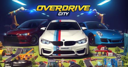 'Overdrive City' llega a iOS y Android: lo último de Gameloft nos invita a construir una ciudad automovilística