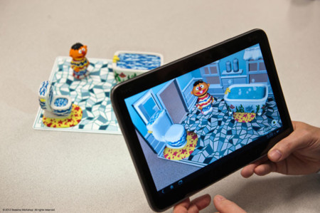 Qualcomm Sesame Street tablet