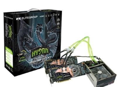 ECS 9800GTX+ Hydra Pack
