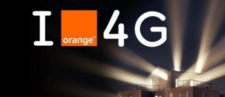 i love 4G Orange