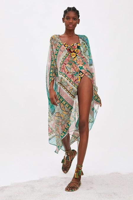 Kimono Largo De Playa 1