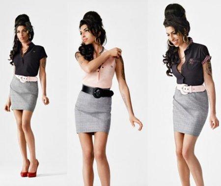 Amy Winehouse para Fred Perry, colección Otoño-Invierno 2010/2011