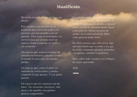 Manifiesto de Alife