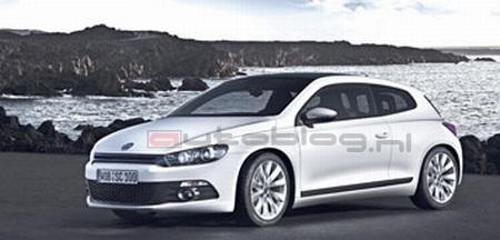 Volkswagen Scirocco, filtrada la primera imagen oficial