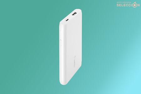 La batería externa Belkin Boost Charge 5K es un chollazo en Macnificos por 5,99 euros: hasta 35 horas adicionales en el iPhone