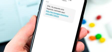 Estafas por SMS que buscan infectar tu Android: Correos, DHL, FeDEx...