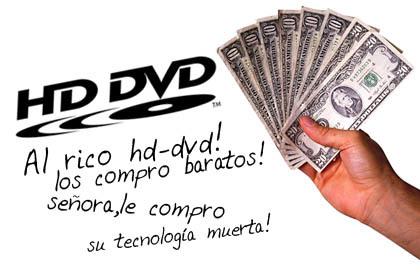 """""""Walmart"""" devuelve dinero a cambio de tu HD-DVD"""