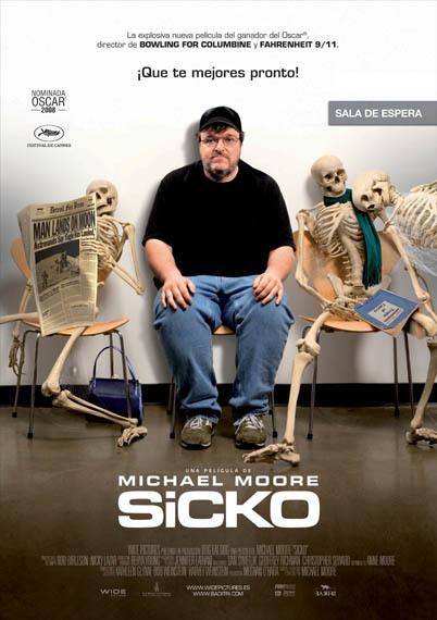'Sicko', póster y trailer de lo último de Michael Moore