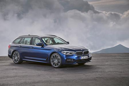 El BMW Serie 5 Touring 2017 llega con 100 kilos menos de peso y cargado de tecnología