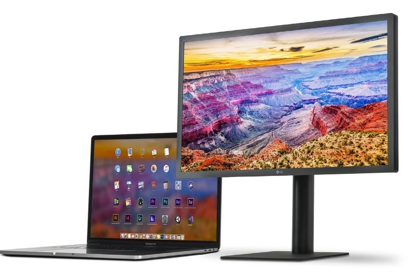 LG actualiza el monitor UltraFine 5K con soporte para el iPad Pro 2018