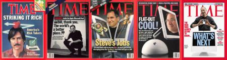 Steve Jobs (y Barrio Sesamo) en la revista Time