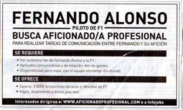 Las relaciones laborales en la empresa la oferta de empleo for Anuncios clasificados gratis