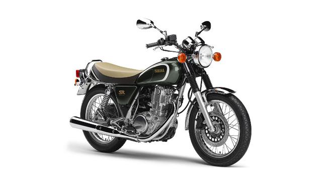 Yamaha SR 400 35 aniversario