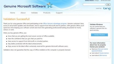 "Microsoft termina con su programa ""Office Genuine Advantage"""