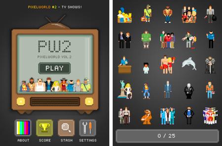 ¿Cuánto sabes de series? Demuéstralo con PixelWorld