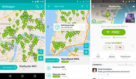 Wifimapper App