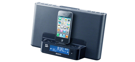 Sony XDR-16iP, un radio despertador con base para iPhone y iPod