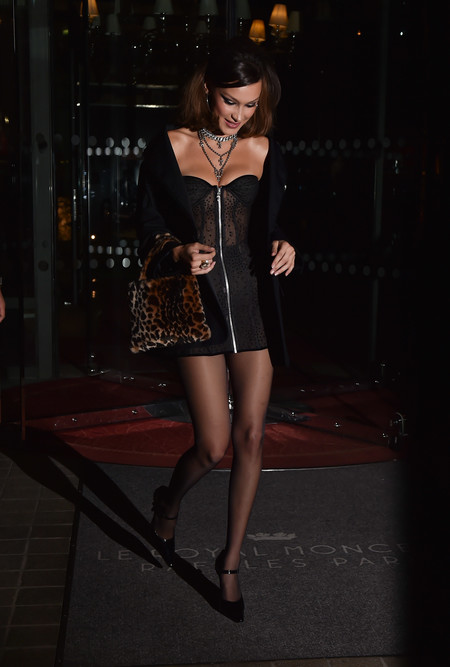 bella hadid look