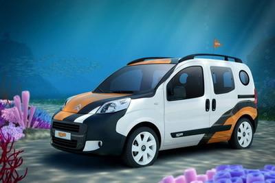 Citroën Nemo Concetto, inspirado en la película Buscando a Nemo